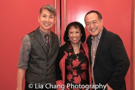 GOLD MOUNTAIN Creator Jason Ma, Baayork Lee, Director Alan Muraoka. Photo by Lia Chang