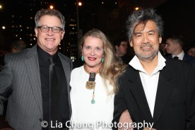 Jeff Layng, Kathryn Layng and David Henry Hwang. Photo by Lia Chang