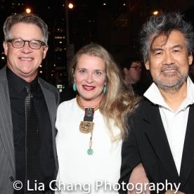 Jeff Layng, Kathryn Layng and David Henry Hwang. Photo by Lia Chang