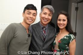 Jonny Lee, Jr., GOLD MOUNTAIN Creator Jason Ma and Ali Ewoldt. Photo by Lia Chang