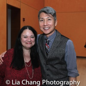 GOLD MOUNTAIN Line Producer Julie L. Miller and CREATOR Jason Ma. Photo by Lia Chang