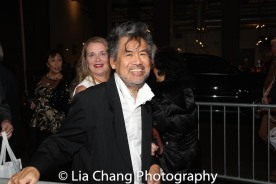Kathryn Layng and David Henry Hwang. Photo by Lia Chang