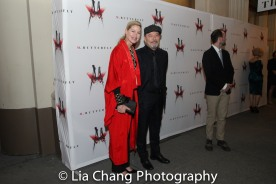 Luba Mason and Ruben Blades. Photo by Lia Chang
