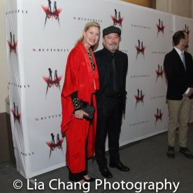 Luba Mason and Ruben Blades. Photo by Lia Chang