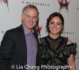 Patrick McEnroe and Melissa Errico. Photo by Lia Chang