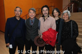 Rocky Chin, Jason Ma, H.T. Chen, Dian Dong and May Chen. Photo by Lia Chang