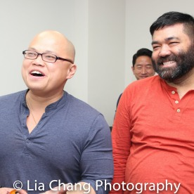 1-Viet Vo and Lawrence-Michael C. Arias. Photo by Lia Chang
