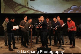 Alan Ariano, Eric Bondoc, Alex Hsu, Jonny Lee, Jr., Eric Badique, Daniel J. Edwards, Daniel May, Marc de la Cruz, Brian Kim and Lawrence-Michael C. Arias. Photo by Lia Chang
