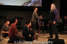 Alex Hsu, Brian Kim, Daniel J. Edwards, Jonny Lee, Jr. and Tyler Bunch. Photo by Lia Chang