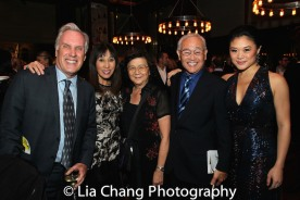Chuck Thompson, Monie Thompson, Gladys Oei, Steven Oei and Kristen Faith Oei. Photo by Lia Chang