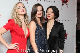 Clea Alsip, Enid Graham and Celeste Den. Photo by Lia Chang