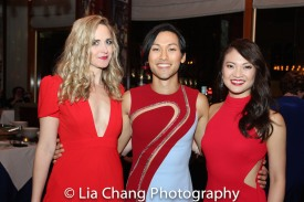 Clea Alsip, Jin Ha and Erica Wong. Photo by Lia Chang