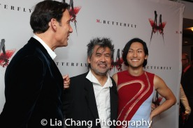 Clive Owen, David Henry Hwang and Jin Ha. Photo by Lia Chang