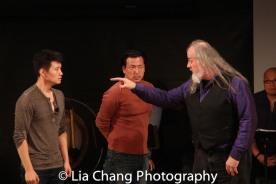 Daniel J. Edwards, Brian Kim and Tyler Bunch. Photo by Lia Chang