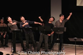 Daniel May, Marc de la Cruz, Eric Badique, Alex Hsu. Photo by Lia Chang