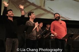Eric Badique, Alex Hsu, Lawrence- Michael C. Arias. Photo by Lia Chang