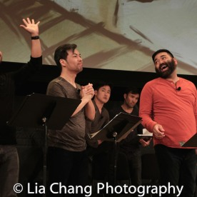 Eric Badique, Alex Hsu, Lawrence- Michael C. Arias. Photo by Lia Chang