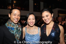 Jake Manabat, Lia Chang and Kristen Faith Oei. Photo by Garth Kravits