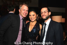 Jamie Harris, Kristen Faith Oei and Justin Busch. Photo by Lia Chang