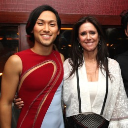 Jin Ha and Julie Taymor Photo by Lia Chang
