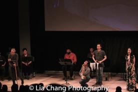 Jonny Lee, Jr., Eric Bondoc, Steven Eng and Ali Ewoldt. Photo by Lia Chang