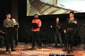 Jonny Lee, Jr., Lawrence-Michael C. Arias, Steven Eng and Daniel J. Edwards. Photo by Lia Chang