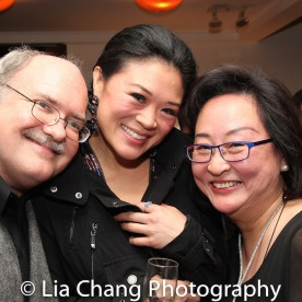 Ken Smith, Kristen Faith Oei and Joanna C. Lee. Photo by Lia Chang