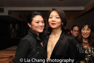 Kristen Faith Oei and Celeste Den. Photo by Lia Chang