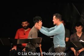 Lawrence-Michael Arias, Jonny Lee, Jr., Alan Ariano, Daniel J. Edwards. Photo by Lia Chang