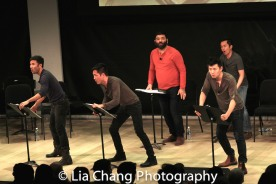 Marc de la Cruz, Daniel May, Lawrence-Michael C. Arias, Daniel May and Steven Eng. Photo by Lia Chang-