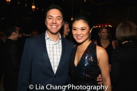 Michael Nicholas and Kristen Faith Oei. Photo by Lia Chang