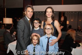 Robert Sella, Enid Graham and their sons. Photo by Lia Chang