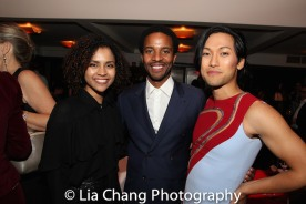 Shay Vawn, Andre Holland and Jin Ha. Photo by Lia Chang