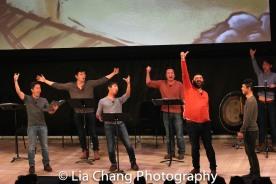 Steven Eng, Daniel J. Edwards, Eric Bondoc, Brian Kim, Lawrence-Michael C. Arias, Jonny Lee, Jr., and Ben Bartels. Photo by Lia Chang