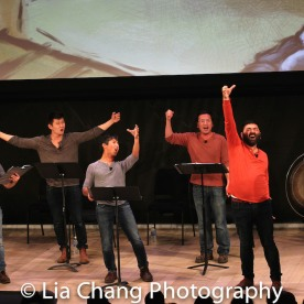 Steven Eng, Daniel J. Edwards, Eric Bondoc, Brian Kim, Lawrence-Michael C. Arias, Jonny Lee, Jr., and Ben Bartels. Photo by Lia Chang