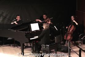 2-Steven Lyon, Todd Low, Kristen Lee Rosenfeld and Leigh Stuart. Photo by Lia Chang