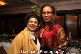 Tamara Tunie with her mother Gigi. Photo by Lia Chang
