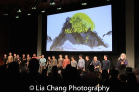 The company of GOLD MOUNTAIN. Photo by Lia Chang