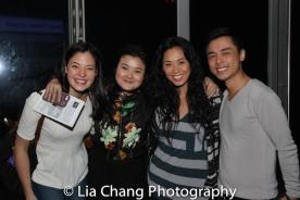 Manna Nichols, Olivia Oguma, E.J. Zimmerman and Jonny Lee, Jr. Photo by Lia Chang