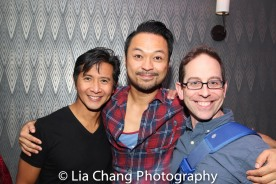 Eric Bondoc, Billy Bustamante and Garth Kravits. Photo by Lia Chang