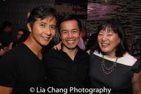 Eric Bondoc, Steven Eng and Karin Kawamoto. Photo by Lia Chang