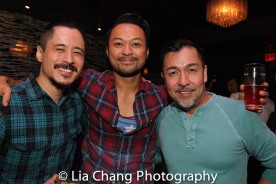 Dewey Winn, Billy Bustamante and Alan Ariano. Photo by Lia Chang