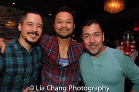 Dewey Winn, Billy Bustamante and Alan Ariano. Photo by Lia Chang