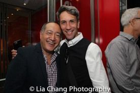 Alan Muraoka and Robert Sella. Photo by Lia Chang
