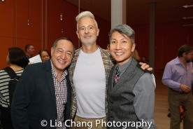 GOLD MOUNTAIN Director Alan Muraoka, George Hobica and Creator Jason Ma. Photo by Lia Chang