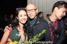 Ali Ewoldt and Francis Jue. Photo by Lia Chang