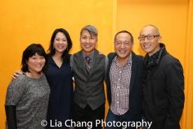 Ann Harada, Christine Toy Johnson, Jason Ma, Alan Muraoka and Francis Jue. Photo by Lia Chang