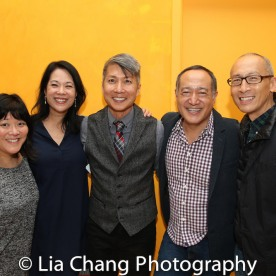 Ann Harada, Christine Toy Johnson, Jason Ma, Alan Muraoka and Francis Jue. Photo by Lia Chang