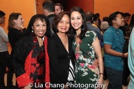 NAAP Co-founder Baayork Lee, Leah Anolin Ewoldt and her daughter Ali Ewoldt. Photo by Lia Chang