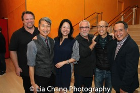 Bruce Johnson, GOLD MOUNTAIN Creator Jason Ma, Christine Toy Johnson, Herb Perry, Francis Jue and Director Alan Muraoka. Photo by Lia Chang